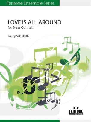 Love is All Around - Quintette de cuivres Wet Wet Wet laflutedepan