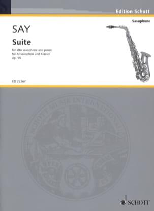 Suite, opus 55 Fazıl Say Partition Saxophone - laflutedepan
