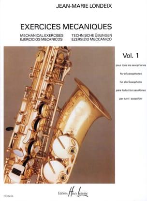 Exercices Mécaniques Volume 1 Jean-Marie Londeix laflutedepan