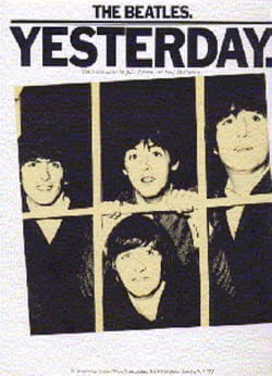 BEATLES - Yesterday - Partition - di-arezzo.co.uk