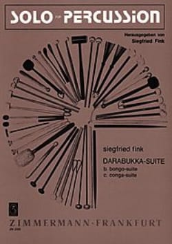 Darabukka-Suite. Tricotis Siegfried Fink Partition laflutedepan