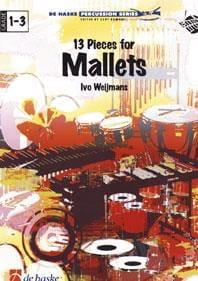 13 Pièces For Mallets Ivo Weijmans Partition Xylophone - laflutedepan