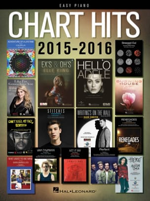 Chart Hits of 2015-2016 - Easy Piano - laflutedepan.com