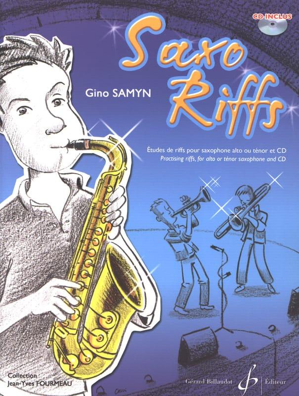 Saxo Riffs - Gino Samyn - Partition - Saxophone - laflutedepan.com