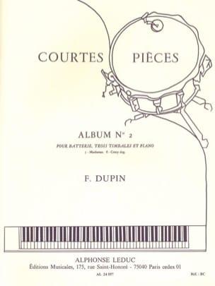 Courtes Pièces Album N° 2 François Dupin Partition laflutedepan