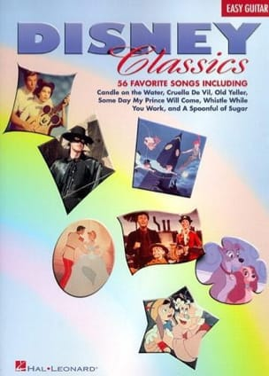 Disney Classics - 56 Favorite Songs - Easy Guitar DISNEY laflutedepan