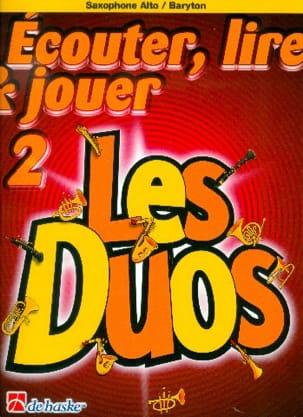 Ecouter Lire et Jouer - Les duos Volume 2 - 2 Saxophones laflutedepan
