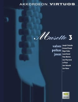 Akkordeon Virtuos - Musette 3 Partition Accordéon - laflutedepan