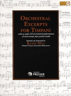 Orchestral Excerpts For Timpani Partition Timbales - laflutedepan