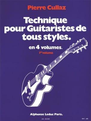 Technique Pour Guitaristes de Tous Styles Volume 1 laflutedepan