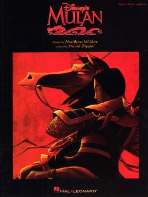 Mulan DISNEY Partition Musique de film - laflutedepan