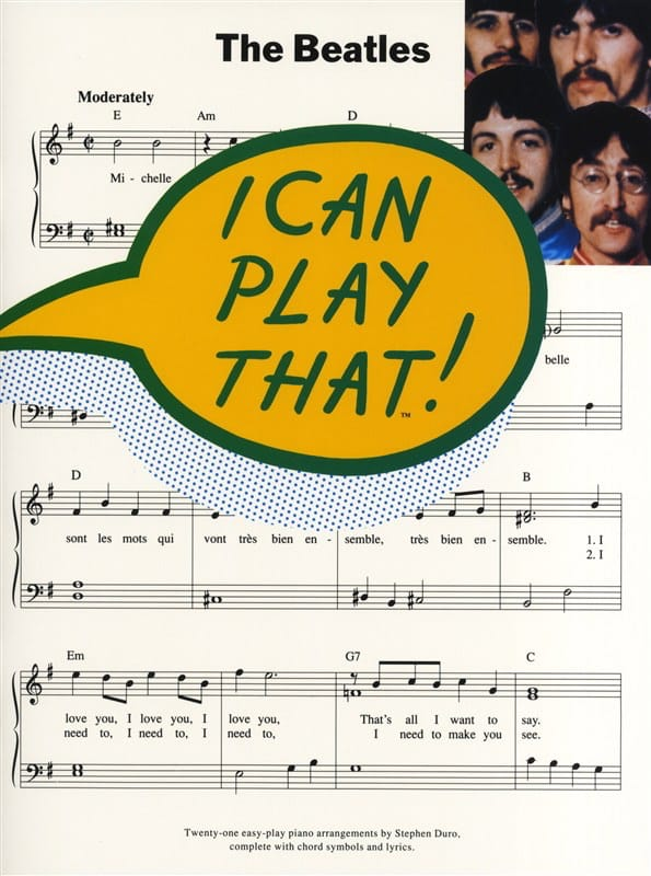 I Can Play That Volume 1 - BEATLES - Partition - laflutedepan.com
