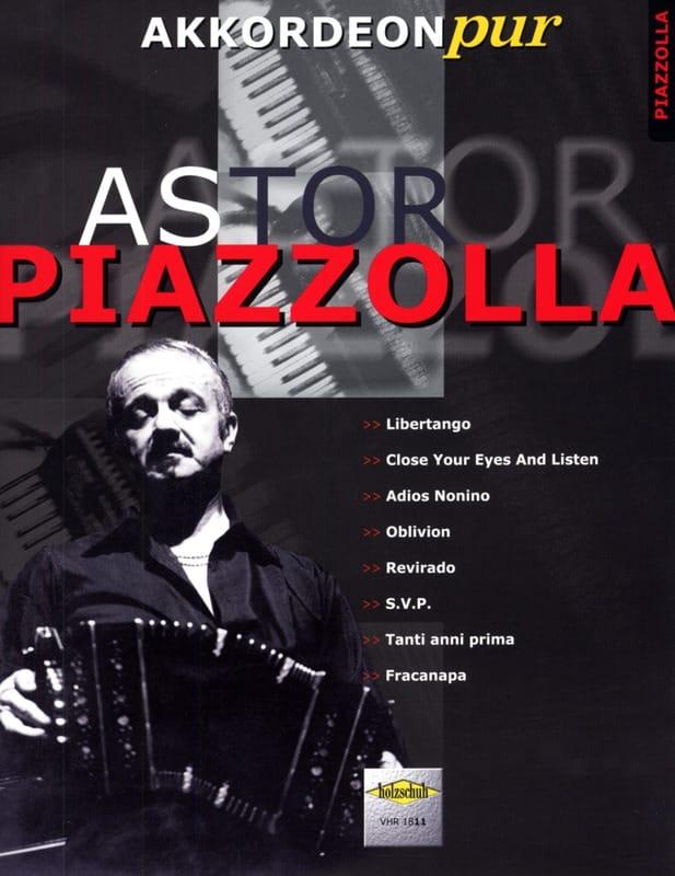 Akkordeon Pur - Astor Piazzolla 1 - Astor Piazzolla - laflutedepan.com