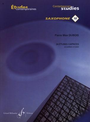 24 Etudes Caprices Volume 1 Pierre-Max Dubois Partition laflutedepan