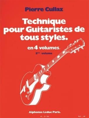 Technique Pour Guitaristes de Tous Styles Volume 2 laflutedepan