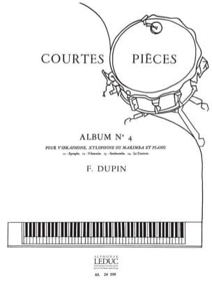 Courtes Pièces Album N° 4 François Dupin Partition laflutedepan