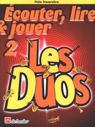 Ecouter Lire et Jouer - Les duos Volume 2 - 2 Flûtes Traversières laflutedepan