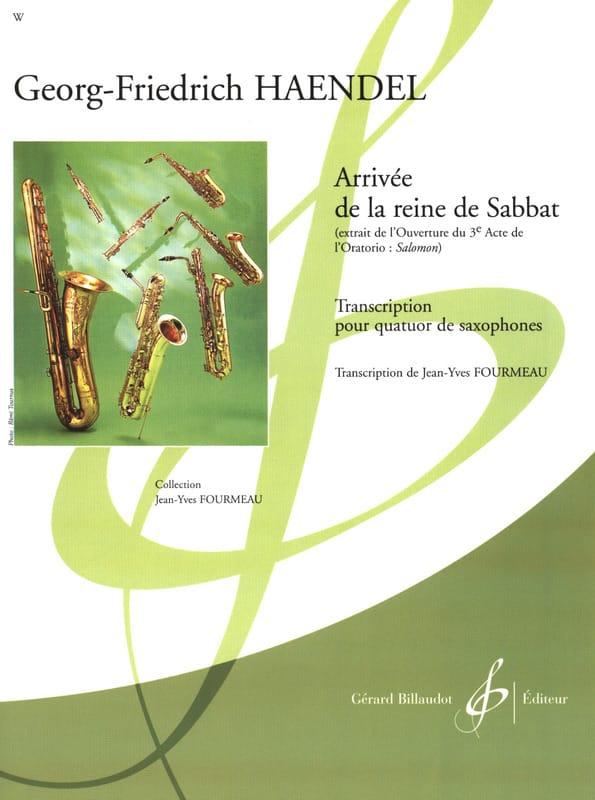 Arrivee de la reine de sabbat - Quatuor de Saxophones - laflutedepan.com