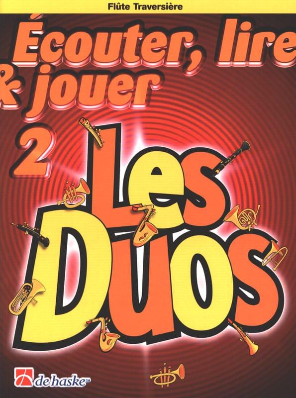 Ecouter Lire et Jouer - Les duos Volume 2 - 2 Flûtes Traversières - laflutedepan.com