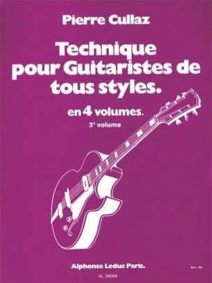 Technique Pour Guitaristes de Tous Styles Volume 3 laflutedepan