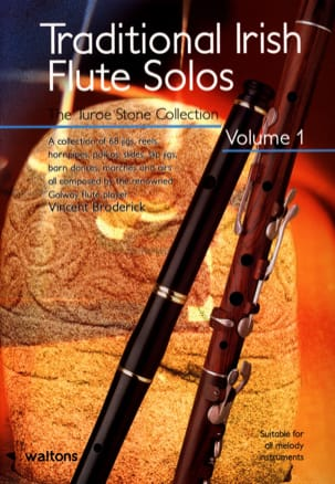 Traditional Irish Flute Solos Vincent Broderick Partition laflutedepan