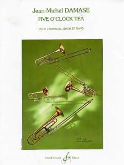 Five O'clock Tea Jean-Michel Damase Partition Trombone - laflutedepan