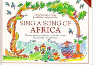 Sing A Song Of Africa Partition Musique du monde - laflutedepan