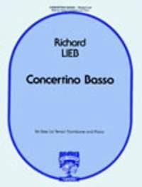 Concertino Basso - Richard Lieb - Partition - laflutedepan.com