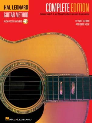 Hal Leonard Guitar Method Complete Edition laflutedepan