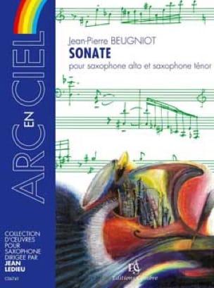 Sonate - Jean-Pierre Beugniot - Partition - laflutedepan.com