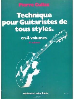 Technique Pour Guitaristes de Tous Styles Volume 4 laflutedepan