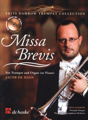 Missa Brevis Jacob De Haan Partition Trompette - laflutedepan