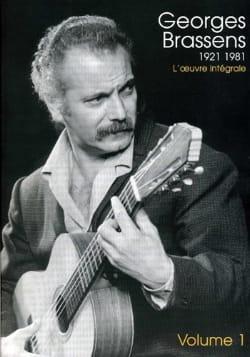 1921-1981 l'Oeuvre intégrale volume 1 Georges Brassens laflutedepan
