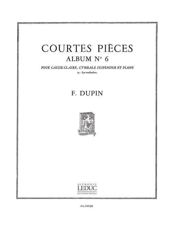 Courtes Pièces Album N° 6 - les Muchachos - laflutedepan.com