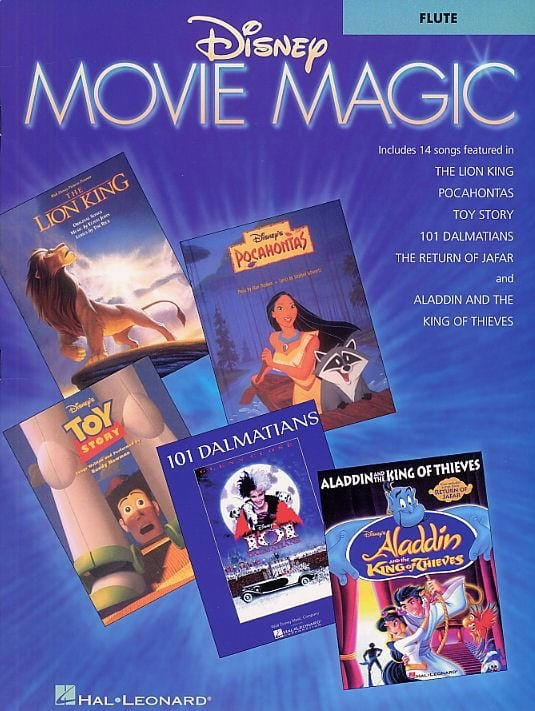 Disney Movie Magic - DISNEY - Partition - laflutedepan.com