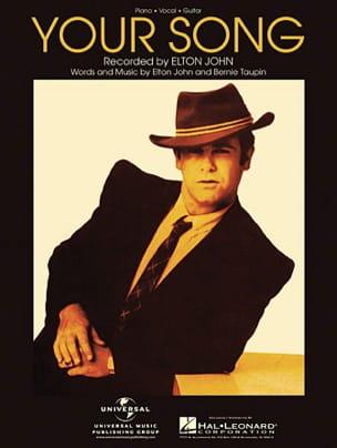 Your Song Elton John Partition Pop / Rock - laflutedepan