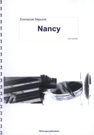 Nancy Emmanuel Séjourné Partition Marimba - laflutedepan