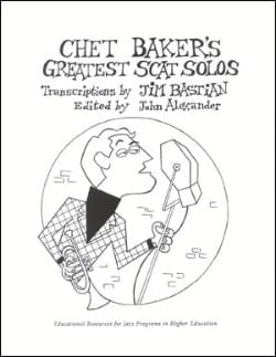 METHODE AEBERSOLD - Chet Baker's Greatest Scat Solos - Partition - di-arezzo.co.uk