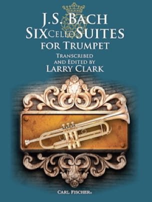 Six Cello Suites For Trumpet - BACH - Partition - laflutedepan.com