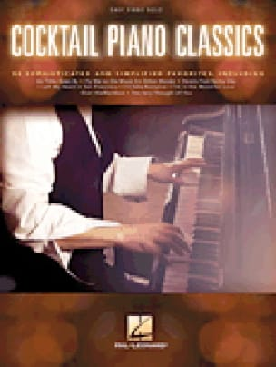 Cocktail Piano Classics - Partition - laflutedepan.com