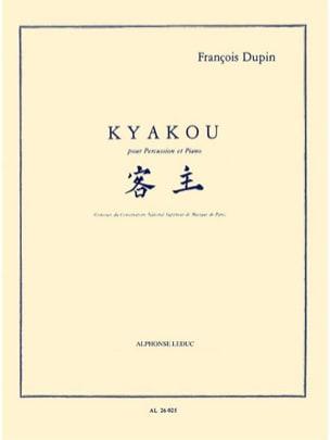 Kyakou François Dupin Partition Multi Percussions - laflutedepan