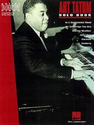 Solo Book Art Tatum Partition Jazz - laflutedepan