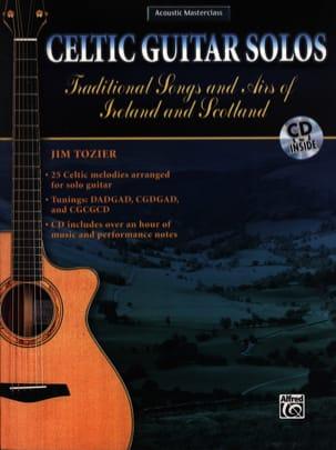 Celtic Guitar Solos - Jim Tozier - Partition - laflutedepan.com