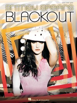 Blackout Britney Spears Partition Pop / Rock - laflutedepan