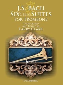 Six Cello Suites For Trombone BACH Partition Trombone - laflutedepan