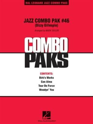 Jazz Combo Pak # 46 Dizzy Gillespie Partition ENSEMBLES - laflutedepan