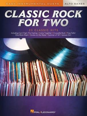 Classic Rock for Two Alto Saxes Partition Saxophone - laflutedepan
