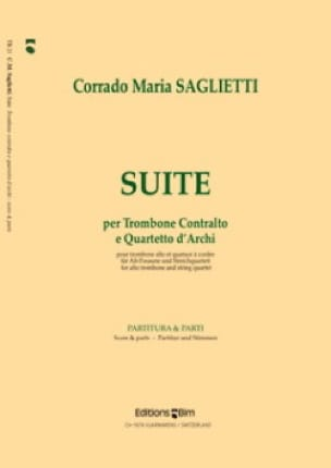 Suite - Corrado Maria Saglietti - Partition - laflutedepan.com