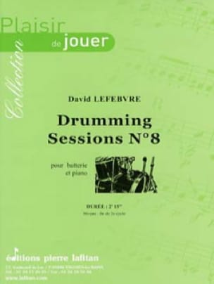 Drumming Sessions N°8 - David Lefebvre - Partition - laflutedepan.com