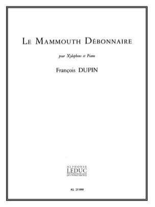 Le Mammouth Débonnaire François Dupin Partition laflutedepan